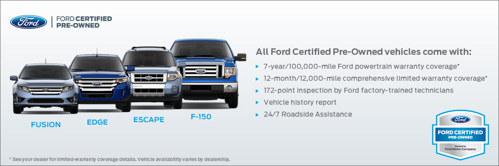 Ford Certified Pre Owned >> Certified Pre Owned Benefits Santa Clara Capitol Ford